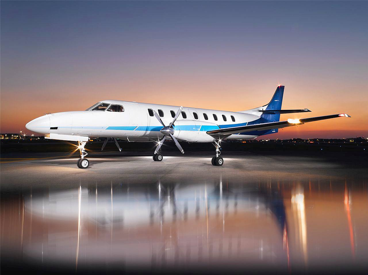 fairchild metro iii private charters turboprop airliner